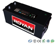 DIN JIS Whole Range 36Ah-220Ah Sealed Maintenance Free SMF MF Heavy Duty Car Automotive Lead Acid Battery 1 Year Warranty