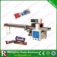 Automatic Pillow Roll Packing Machine For Bread And Cake