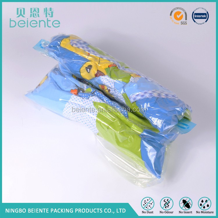 Customization Hot sell Space Saver Roll up Vacuum Storage Travel Bags for Clothes
