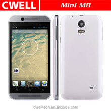 4.5 Inch Touch Screen Dual Sim Card Mini M8 Android Cdma Small Size Mobile Phone