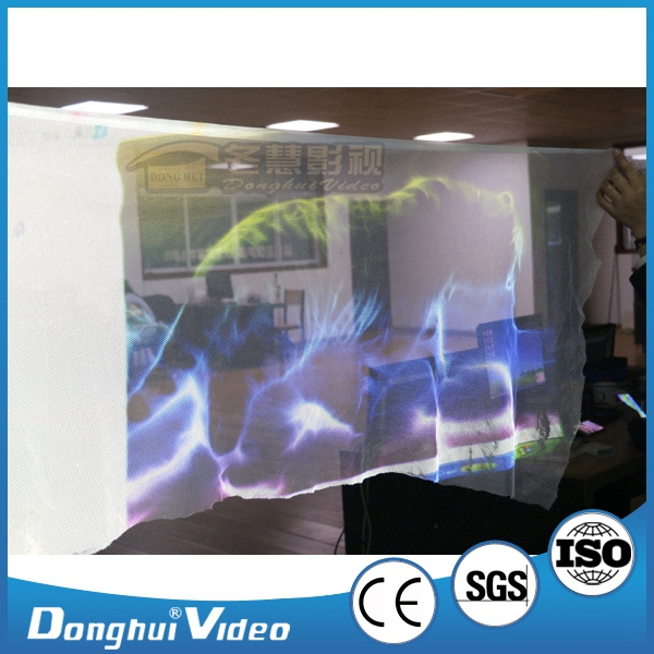 3D Stage Projector Screen, Holographic Projection Screen for stage use