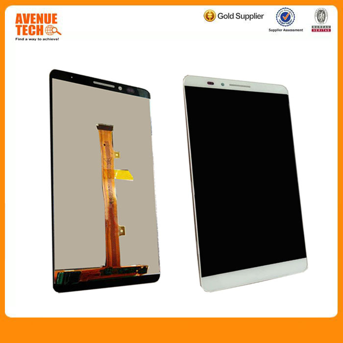 Original for Huawei Mate 7 LCD Display And Touch Screen With Frame Assembly Black Stock For Huawei Mate 7 Smart phone