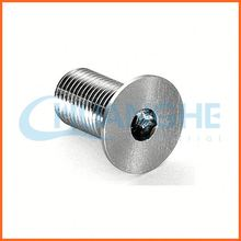 China supplier counter sunk head machine screw