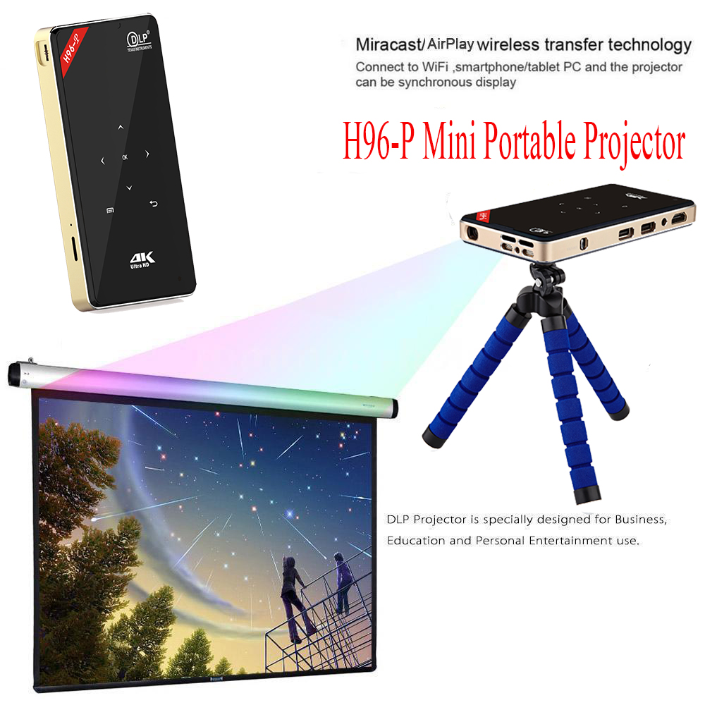 Wifi Home Cinema LCD LED Android Projectors HD Online Games TV Video HD USB UK Low Price Projector