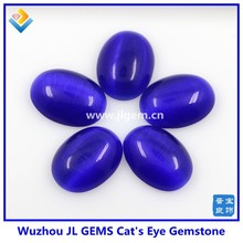 Dark Sapphire Blue Oval Cut Cat's Eye Cabochon Opal price