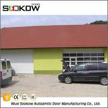 Polyurethane foam automatic steel types of garage doors