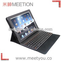 360 degree swivel bluetooth keyboard case for ipad 5