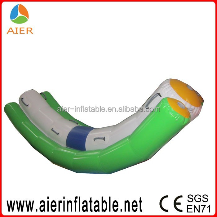 4 person inflatable water park toy inflatable water seesaw