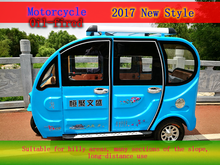 Factory outlet passenger enclosed cabin 3 wheel motorcycle