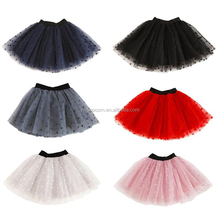 Wholesale Ballet Performance Ball Gown Girls Tulle Tutu Skirt for kids
