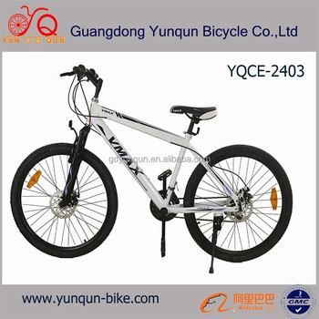 Popular MTB cycle/ inexpensive steel frame Mountain bike/ disc brake MTB bikes/ 21 speed suspension bicycle for wholesale