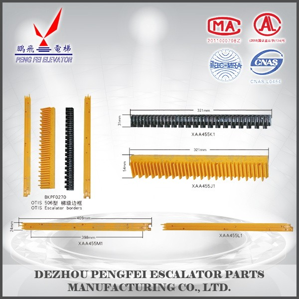 China suppliers Escalator step borders elevator part type 506 steel borders