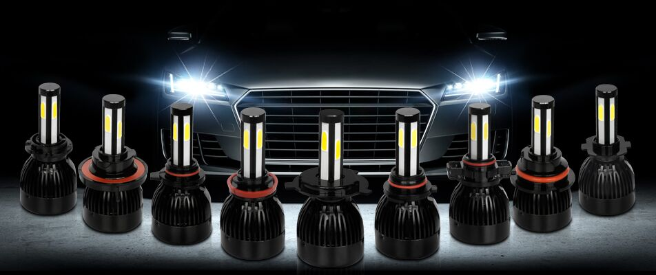 Auto parts,high power auto led headlight bulb 12v 24v G20 G5 40W 80W h4 led car headlight bulbs H7,9004, 9007, 9012, H11, H13,
