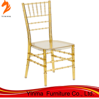 Wholesale Cheap monobloc white resin chiavari chair