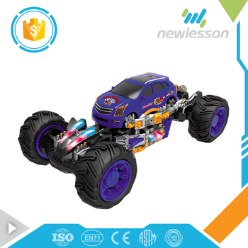 Hot sale 11 channels transformable distort shooting bullets car toy rc car frames for children