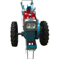 QLN 12 hp mini garden hand tractors for sale with rotary machine