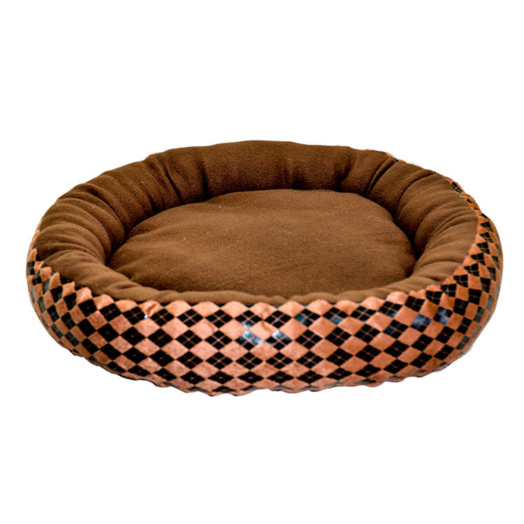 Hot Selling Customized Round Good Core Cotton Pet Bed