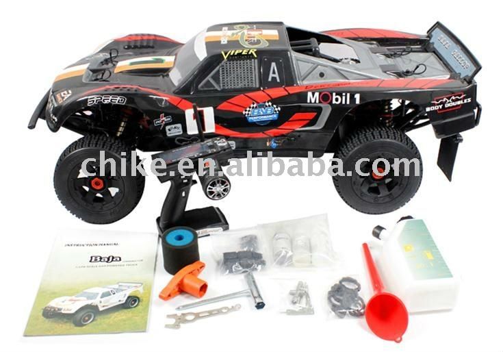 26cc short course RC TRUCK with 2.4G transmitter RTR