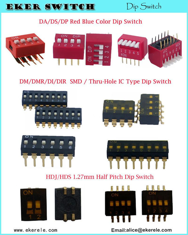 6x6x6mm Right Angle 2 Pin Tact Switch Raised from PCB