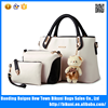 Wholesale Cheap China New Fashion PU leather Women Three Piece Handbags