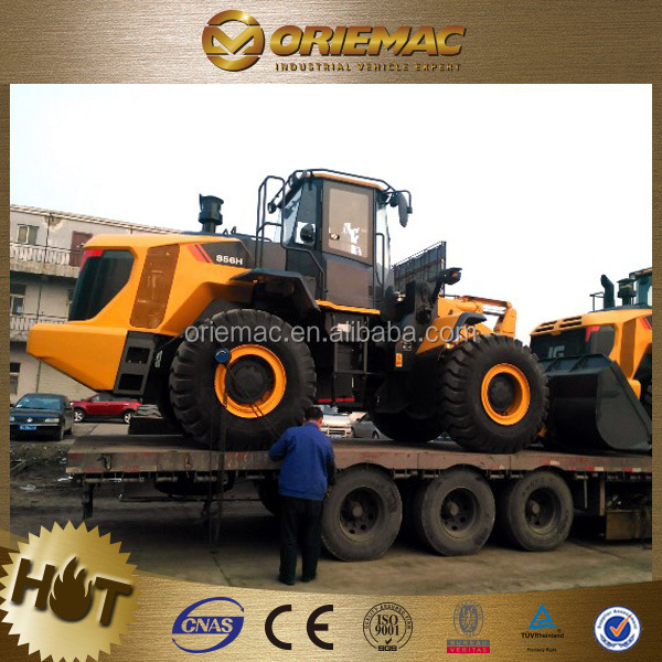 earth moving machinery 5 ton liugong 856 wheel loader clg856 with cheap price