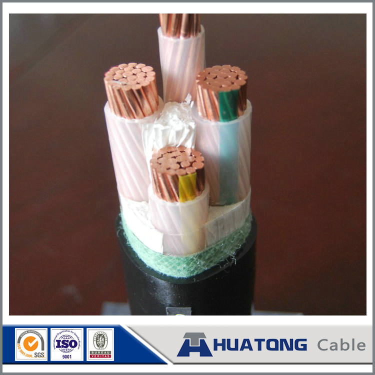 0.6/1kv CU/XLPE/STA/PVC low voltage cable 16mm2
