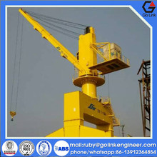 CCS ABS certification professional design china manufacturer marine portal mobile crane