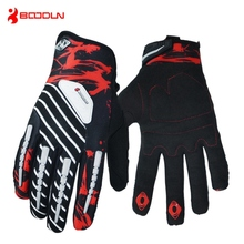Boodun Nylon Non-slip Full Finger Cycling Bicycle Racing Bike Fitness Weight lifting Dumbbell Climbing Gym Gloves
