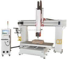 jinan MVIP1224 router 5 axis cnc wood carving machine