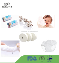 Spunlaced Technic Soft Cotton Fabric Nonwoven for Wet Wipe/Disposable Underwear