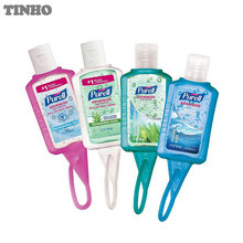Silicone hand sanitizer pocketbac holder