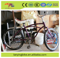 2016 Hot selling fashionable 20 inch single speed beach cruiser bike for kids