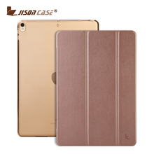 2017 Ultra slim luxury flip leather back cover for new ipad pro case 10.5