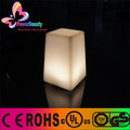 Color changing remote control cordless glowing led table lamp