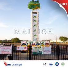 China amusement park free fall tower rides frog jumping hopper for sale