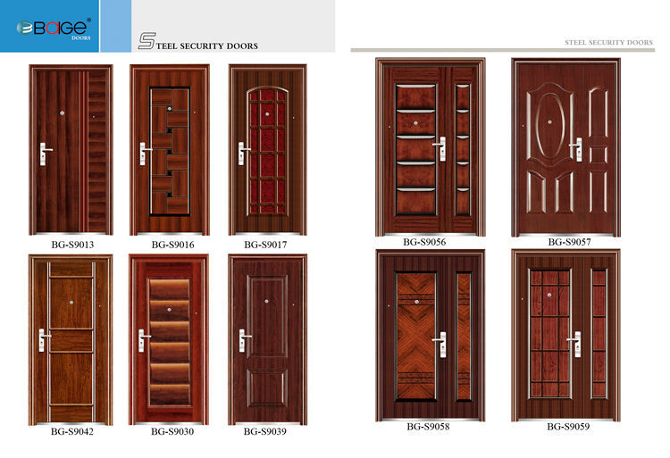 Bg s9057 main entrance single door designs buy main for Door design catalogue in india
