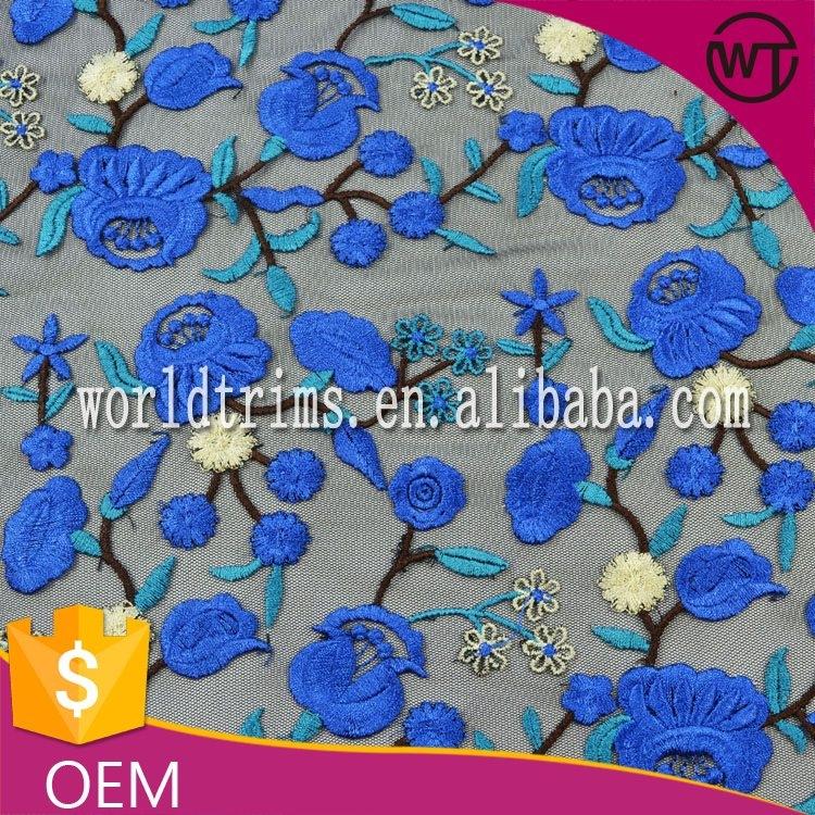 New embroidery fabric wholesale makaroka
