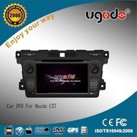ugode wholesale CE Certification auto parts mazda for MAZDA CX7 car dvd gps navigation system
