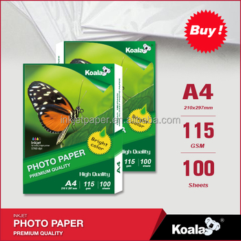 Professional manufacturer of Inkjet Glossy photo paper , wholesale High Glossy paper