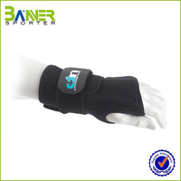 Hot sale Wrist Wraps Palm Protector In Weight Lifting Wrist Guard
