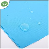 420D waterproof polyester jacquard oxford fabric with PU coating