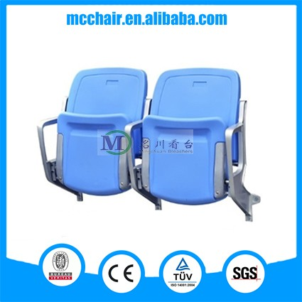 2016 Cancer Wall Mounted China Stadium Seat Event Chair Plastic Chair/Audience Chair Arena Seating/Fixed Bleacher Stadium Chair