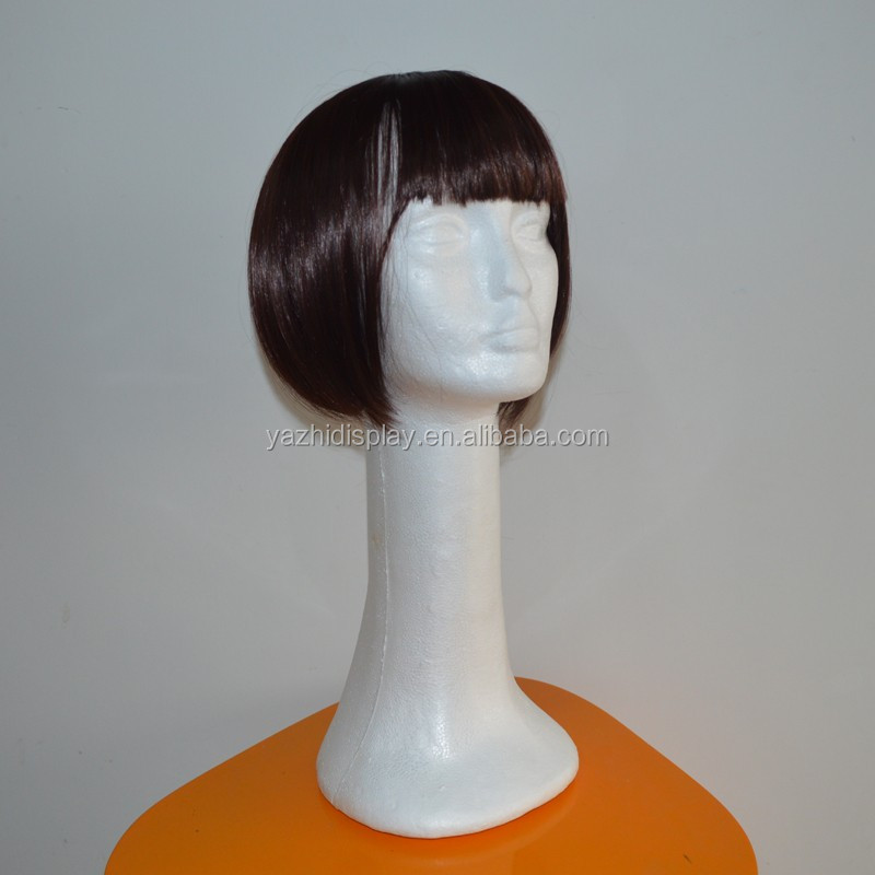 "18"" Female Styrofoam Head Model Wig Hair Hats Caps Glasses Long Neck Display Manequim Mannequin Manikin Head For Wigs"