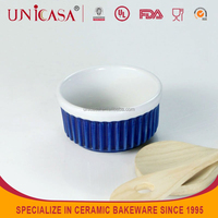 UNICASA 4 Inch round novelty baking pan and dishes