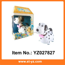 Battery Operated Dalmatian lovely puppy electronic educational toy puppy with music & light kids educational electronic toy dog