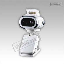 USB Webcam Web Camera with Mic + 6 LED for PC Laptop