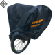 Heavy Duty Ripstop Material Waterproof Bike Cover for Outdoor Bicycle Storage