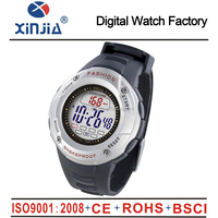 hot selling flashing 3ATM water resistant multifunctional sport watch