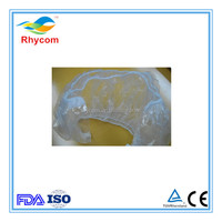 Disposable clear PE wheel steering cover