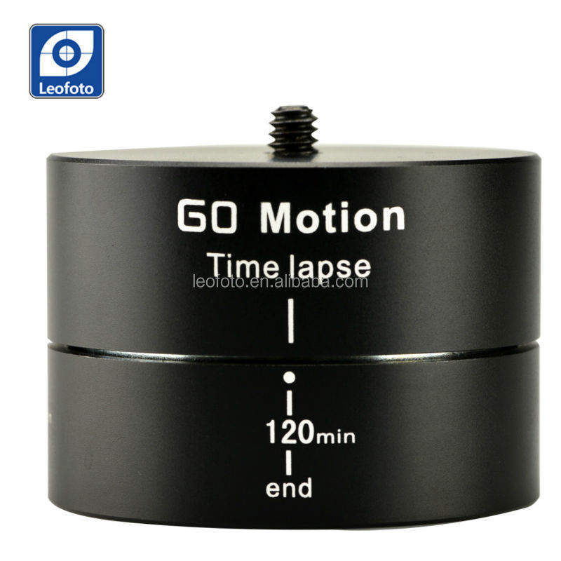 For Go Pro Time Lapse 360 rotating 120 Minutes Camera Drift time + Adapter Mount Leofoto - LT-003